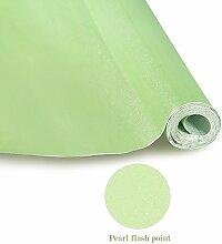 Elegant Klebefolie PVC 0.61x5M Grün Küchenfolie Dekofolie Schrankfolie Selbstklebend Wasserdicht Möbelfolie Folie Tapeten für Küche Schrank Möbel