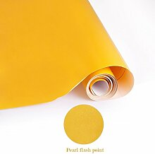 Elegant Selbstklebend Küchenfolie PVC 0.61x5M Gelb Wasserfest Möbelfolie Dekofolie Schrankfolie klebefolie Möbelfolie Folie Tapeten für Küche Schrank Möbel