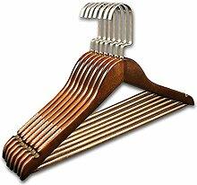 Elegante Antirutsch Design Kleiderbügel Holz,