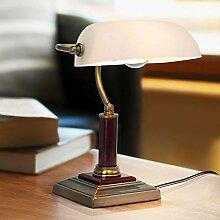 Elegante Bankerlampe, Schreibtischleuchte, mit