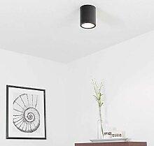 Elegante Deckenleuchte Schwarz Bauhaus Modern E27