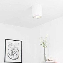 Elegante Deckenleuchte Weiß Bauhaus Design E27