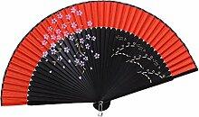 Elegante Hand-Ventilator-bewegliche faltende Ventilator-geschnitzte Handfächer-chinesische Ventilatoren #21