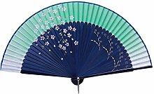 Elegante Hand-Ventilator-bewegliche faltende Ventilator-geschnitzte Handfächer-chinesische Ventilatoren #03