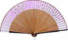 Elegante Hand-Ventilator-bewegliche faltende Ventilator-geschnitzte Handfächer-chinesische Ventilatoren #14