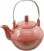 Elegante Keramik-Hobnail-Teekanne mit