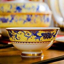 Elegante Schüssel Bone China Bowl Besteckset