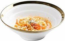 Elegante Schüssel Bone China Bowl, Ramen Bowl