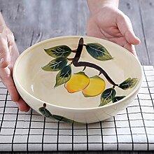 Elegante Schüssel Keramik Geschirr Hause