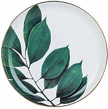 Elegante Schüssel Porzellan Teller Moderne