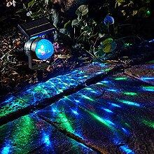 Elegante Solarbetriebene LED-Lampe mit