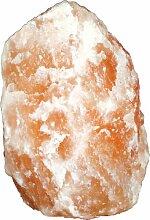 Elegante Stehleuchte Salzkristallstein - Globo