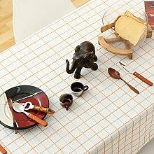Elegante stickerei gitter baumwoll tischtuch fleck-beständige möbel-abdeckung tuch-C Durchmesser220cm(87inch)