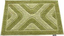 Elegante und einfache saugfähige Matte/Badematte/Fußmatte-D 60x90cm(24x35inch)
