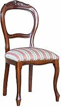 Eleganter Stuhl mit Schnitzarbei