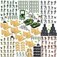 Elegantes 250 Stück/Set Militär Kunststoff