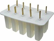 elegantstunning Eisform 10 Zellen Popsicle