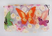 elegantstunning Schmetterling Fenster Vorhang mit