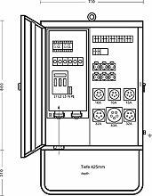Elektra Tailfingen–V125/6321–2Verteilerschr