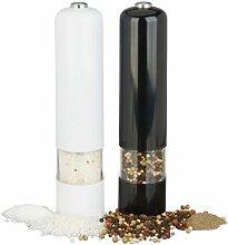 Elektrisch Salz- und Pfeffermühlen-Set Ringo