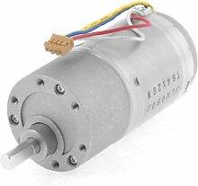 Elektrische 12VDC 100RPM Output Speed reduziert Getriebe Geared Motor