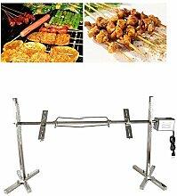 Elektrische BBQ Grillhalterung, Edelstahl Grill