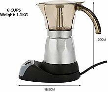 Elektrische Espressokocher Mokkakanne Italienische