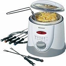 elektrische Fritteuse Fondue für 6 Personen