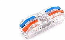 Elektrische Kabelklemmen, 10PCS-Draht-Verbindungs