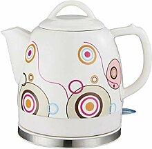 Elektrische Keramik Teekanne mit weißem