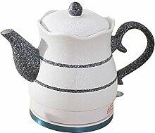 Elektrische Keramik White Kettle Teekanne-Retro