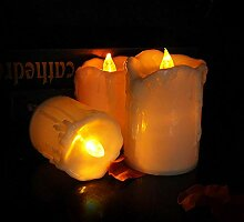 Elektrische Kerzen, Tränen Kerzenlicht Led