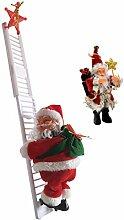 Elektrische Kletternde Leiter Weihnachtsmann