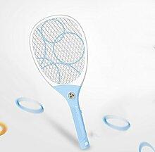 Elektrische Mücken-klatsche USB Wiederaufladbare 2000mA Lithium Batterie Fliegenklatsche Hochwertige Mosquito Fliege Zapper Fliegenfänger mit LED Licht keine Giftstoffe Insektenvernichter Anwendung im Haus und draußen