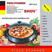 Elektrische Pfanne Ø 36/7cm Pizzapfanne