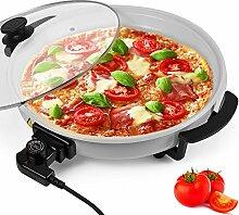 ELEKTRISCHE PFANNE Pizzapfanne Pizza Paella Multi