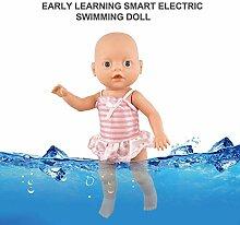 Elektrische schwimmpuppe, niedliche