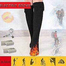 Elektrische Socken Zum Skifahren,Beheizte Socken