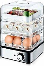 Elektrischer Eierkocher Dreistufiger