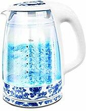 Elektrischer Glaskessel - 1,7 Liter blaue LED