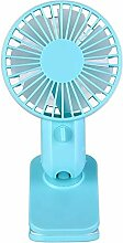 Elektrischer Ventilator blau 5 V 1 W Whisper