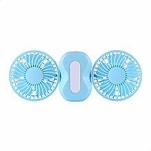 Elektrischer Ventilator/Mini-Lüfter Large blau