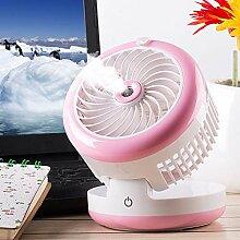 Elektrischer Ventilator, Spray Luftbefeuchter,