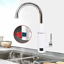 Elektrischer Wasserhahn Durchlauferhitzer,