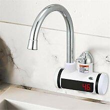 Elektrischer Wasserhahn Edelstahl