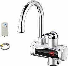 Elektrischer Wasserhahn mit Sofortheizung,