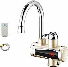 Elektrischer Wasserhahn mit sofortiger Heizung,