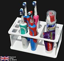 Elektrischer Zahnbürstenhalter (flach verpackte