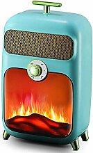 Elektrisches Feuer Elektroherd Elektro Retro 900W