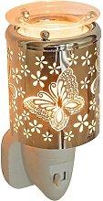 Elektrisches Nachtlicht Duftlampe BUTTERFLY Schmetterling H 10.5cm Ø 6cm Pajoma (15,50 EUR / Stück)